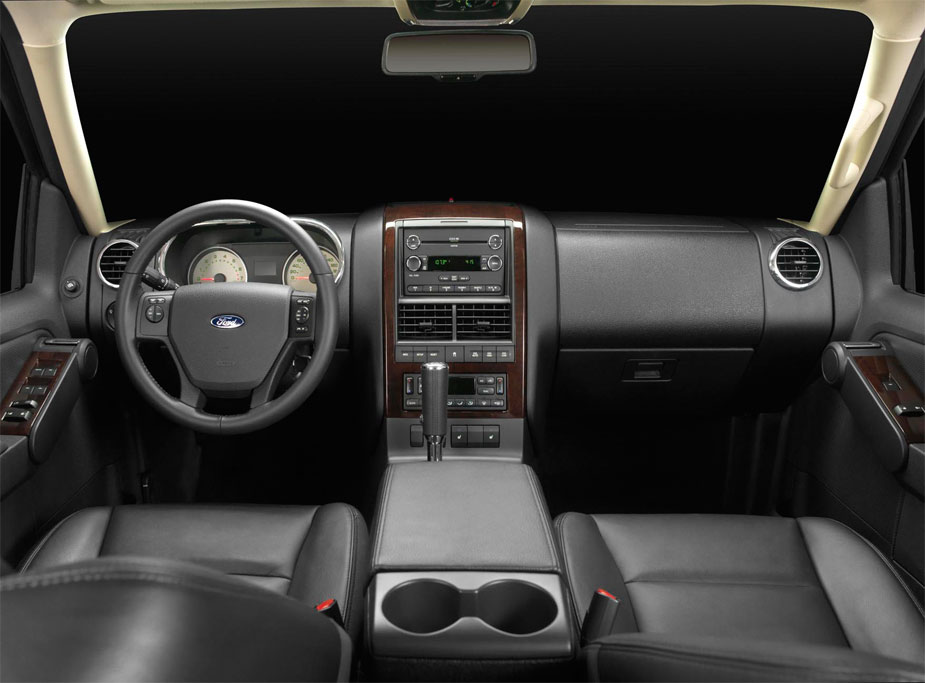 Ford consola dashboard