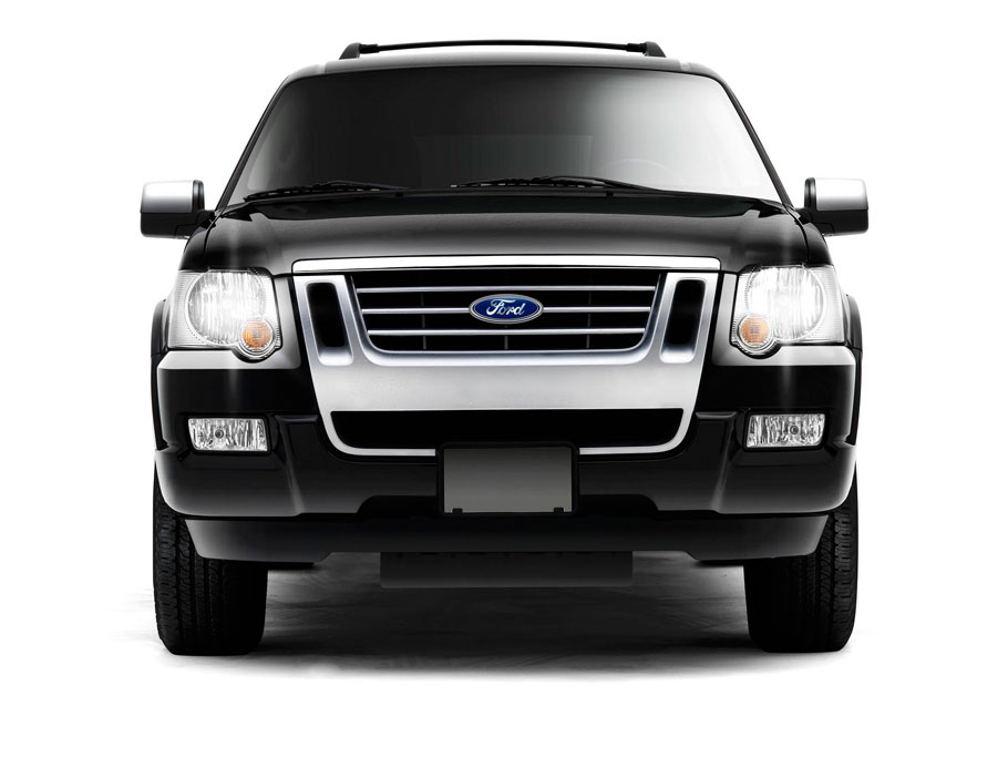 Ford Explorer Limited SUV frontal front