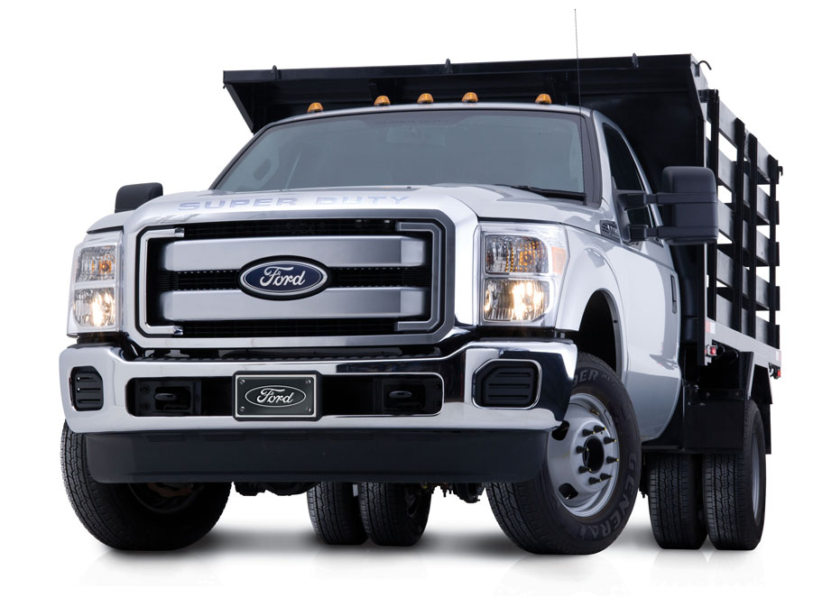 Ford Superduty studio shot