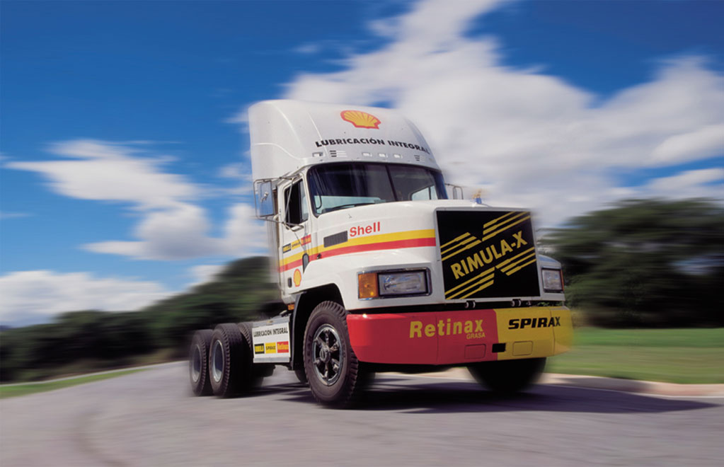 Shell truck camion racing carrera Rimulax