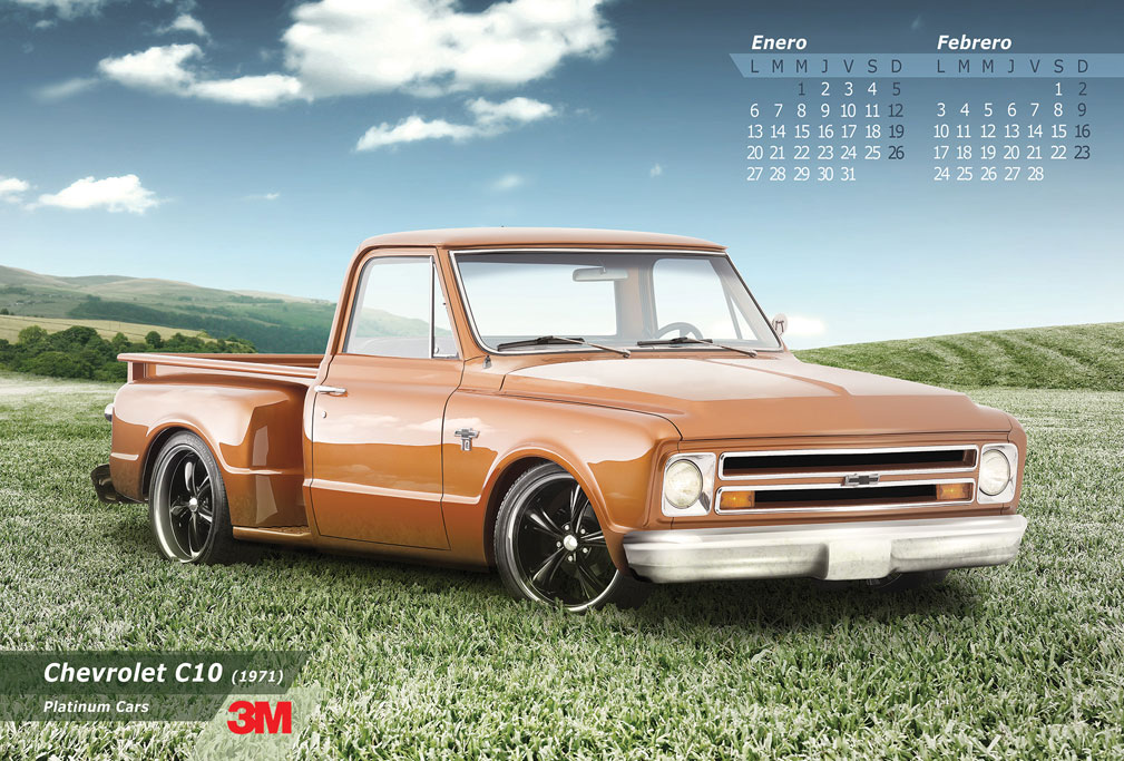 chevrolet chevy c10 3M pickup truck muscle classic