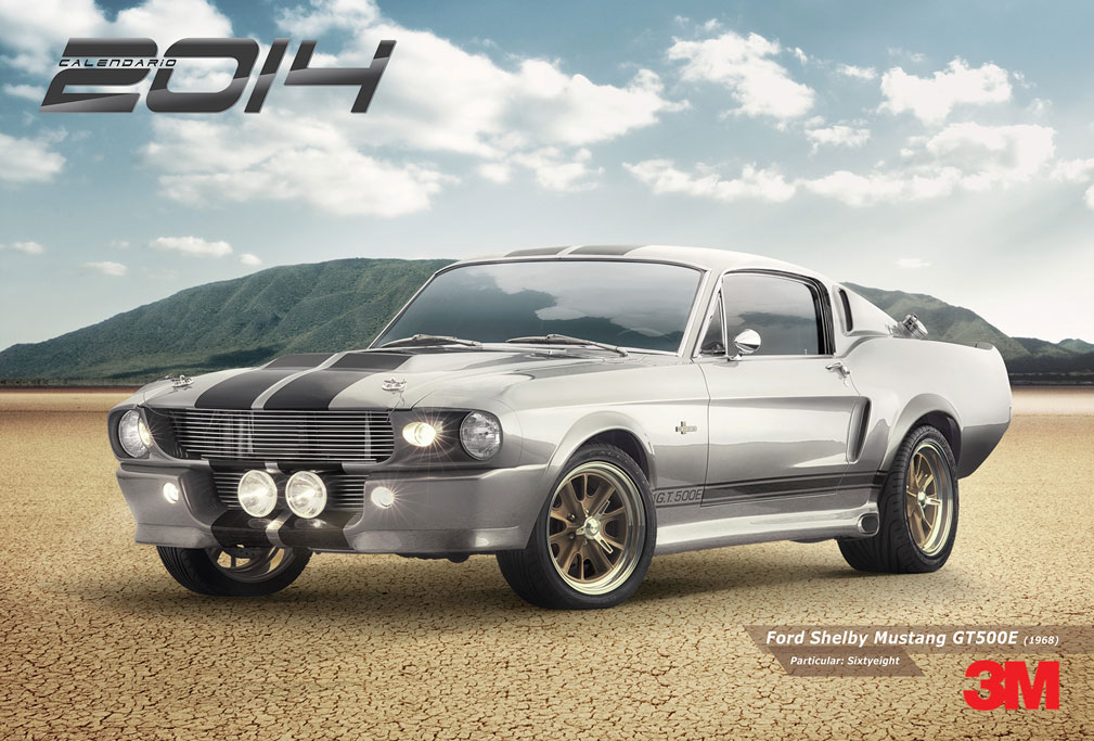 mustang shelby eleonor muscle car classic 3M